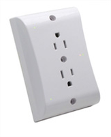 SafePlug Model 1203 Energy Manager Plug-In Electrical Outlet