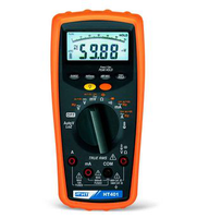HT401 Multimeter with AC/DC TRMS measurements