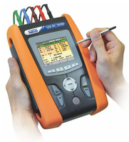 Solar300N Photovoltaic installation certifier & network analyzer