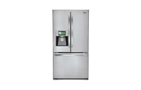 LFX31995ST Smart ThinQ Super-Capacity 3 Door French Door Refrigerator with 8 Inch Wi-Fi LCD Screen