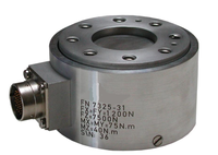 FN7325-M12 Multiaxial Load Cell Force Sensor