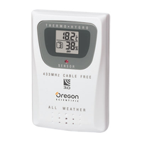 Thermometer & Humidity Sensor with 10 Channels for the WMR200, WMR100, and WMR90