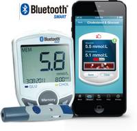 2 in 1 Monitoring System Blood Glucose/Cholesterol