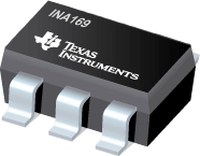 INA169 High-Side Measurement Current Shunt Monitor, Current Output